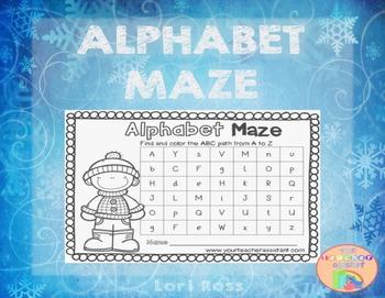Alphabet A-Z Maze
