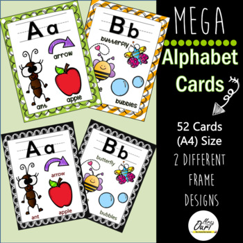 Alphabet (A-Z) Mega packet with two different designs.