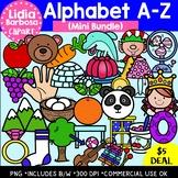 Alphabet A-Z Mini Bundle -Digital Clipart