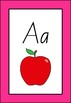 Alphabet A-Z Poster Cards With Pictures