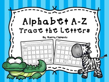 Alphabet A-Z Trace the Letters