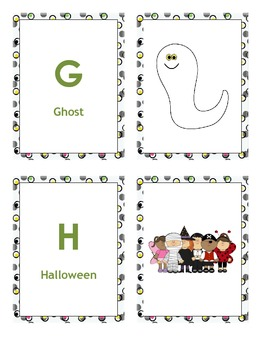 Alphabet A to Z Cards For Boys