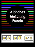 Alphabet A to Z Matching Puzzle