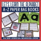 Alphabet A to Z Paper Bag Book Bundle