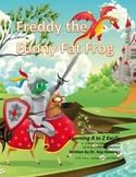 Letter F– Freddy the Funny Fat Frog