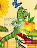 Letter I– Isabel the Intelligent Iguana