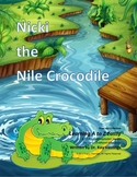 Letter N:Nicki the Nile Crocodile