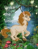 Letter U : Unice the Unique Unicorn