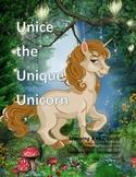 Letter U : Unice the Unique Unicorn