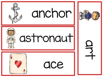 Alphabet A to Z - Writing Words