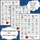 FREEBIE! Alphabet - ABC Chart for Literacy Activities