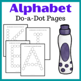 Alphabet ABC Do-a-Dot Pages