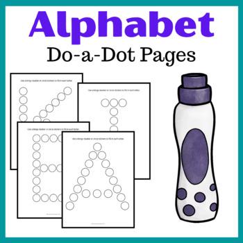 Alphabet ABC Do-a-Dot Pages