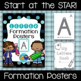 Handwriting Letter Formation Posters