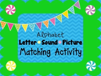 Alphabet ABC Letter Sound Picture Matching Cooperative Learning