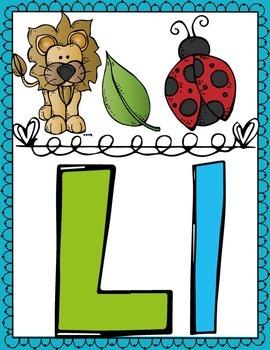 Alphabet Melonheadz ABC Posters