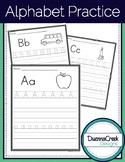 """Alphabet ABC Practice Sheets 3/4"""" Lines"""