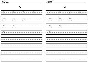 abc homework sheets