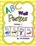 Alphabet ABC Wall posters