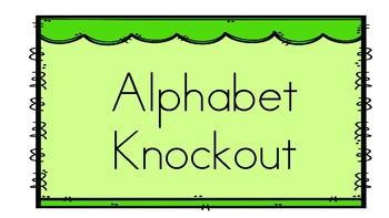 Alphabet ABC knockout