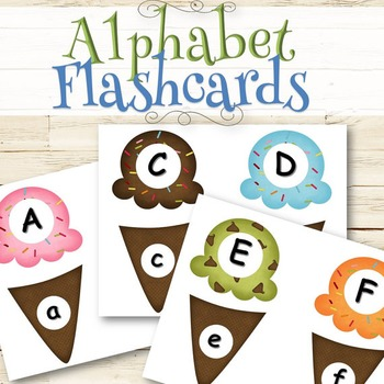 Alphabet/ABC's Game and Flashcards - INSTANT DOWNLOAD
