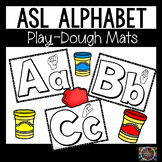 Alphabet ASL Play Dough Mats American Sign Language