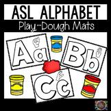 Alphabet ASL Play Dough Mats American Sign Language