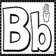 Alphabet ASL Play Doh Mats American Sign Language Black and White