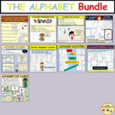 Alphabet Bundle Upper or Capital and Lower Case Letters