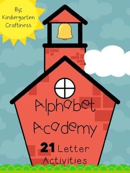 Alphabet Academy: 22 ABC Activities *BUNDLE*