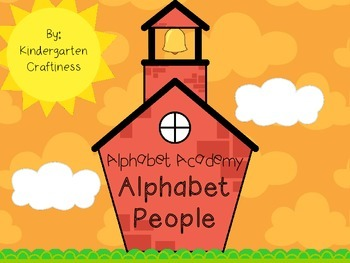 Alphabet Academy: Alphabet People
