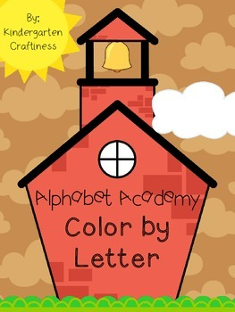Alphabet Academy: Color by Letter