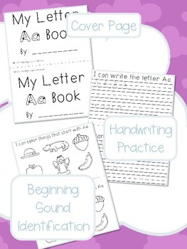 Alphabet Academy: Interactive Letter Books