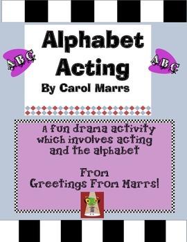 Drama Game-Alphabet Acting