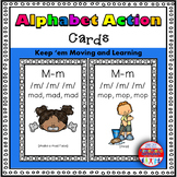 Alphabet Activities Letter Sound Action Cards