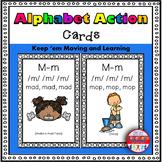 Alphabet Activities Letter Sound Action Cards