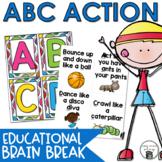 Alphabet Action | Letter Recognition