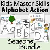 Alphabet Action and Movement Cards for All Seasons