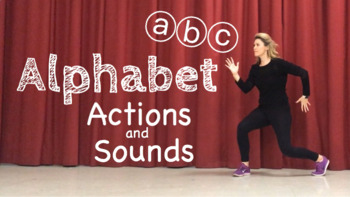 DISTANCE LEARNING: ALPHABET ACTIONS AND SOUNDS
