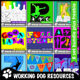 Alphabet lettering: Active Kids: complete set of 8 Active Kids packs