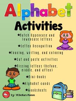 Alphabet Activities
