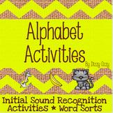 Initial Sound Activities