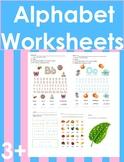 Alphabet Activities   Alphabet Tracing   Alphabet Worksheets
