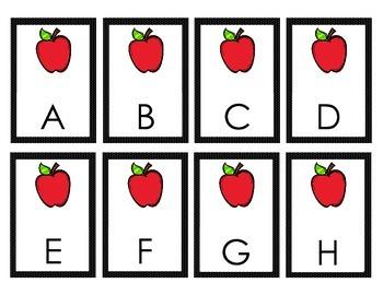 Alphabet Activities - Apples
