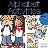 Alphabet Letter Activities Bundle (Letter of the Week or Letter of the Day)