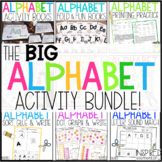 Alphabet Activities Bundle (Capital & Lowercase Alphabet Books and Centers)