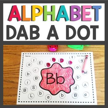 Alphabet Worksheet Dauber Activities
