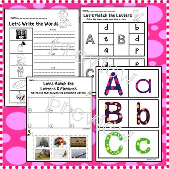 Newcomer's Alphabet Activities: Extra ELL Support