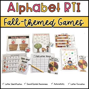 Alphabet Activities: Fall Edition