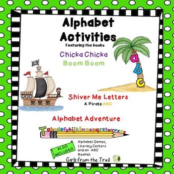 Alphabet Activities Featuring ABC Books